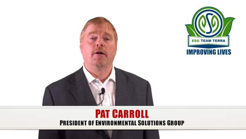 ESG Improving Lives Team Terra President Pat Carroll