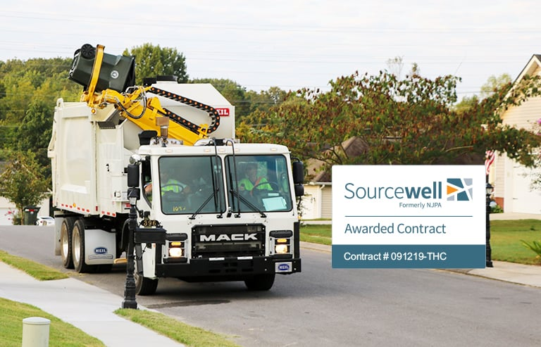 Heil Awarded Sourcewell Garbage Truck Purchasing Contract