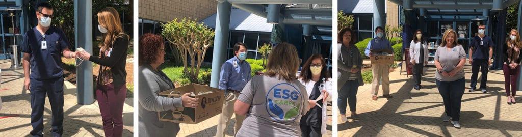 ESG Cares Donates 3d Printed Masks