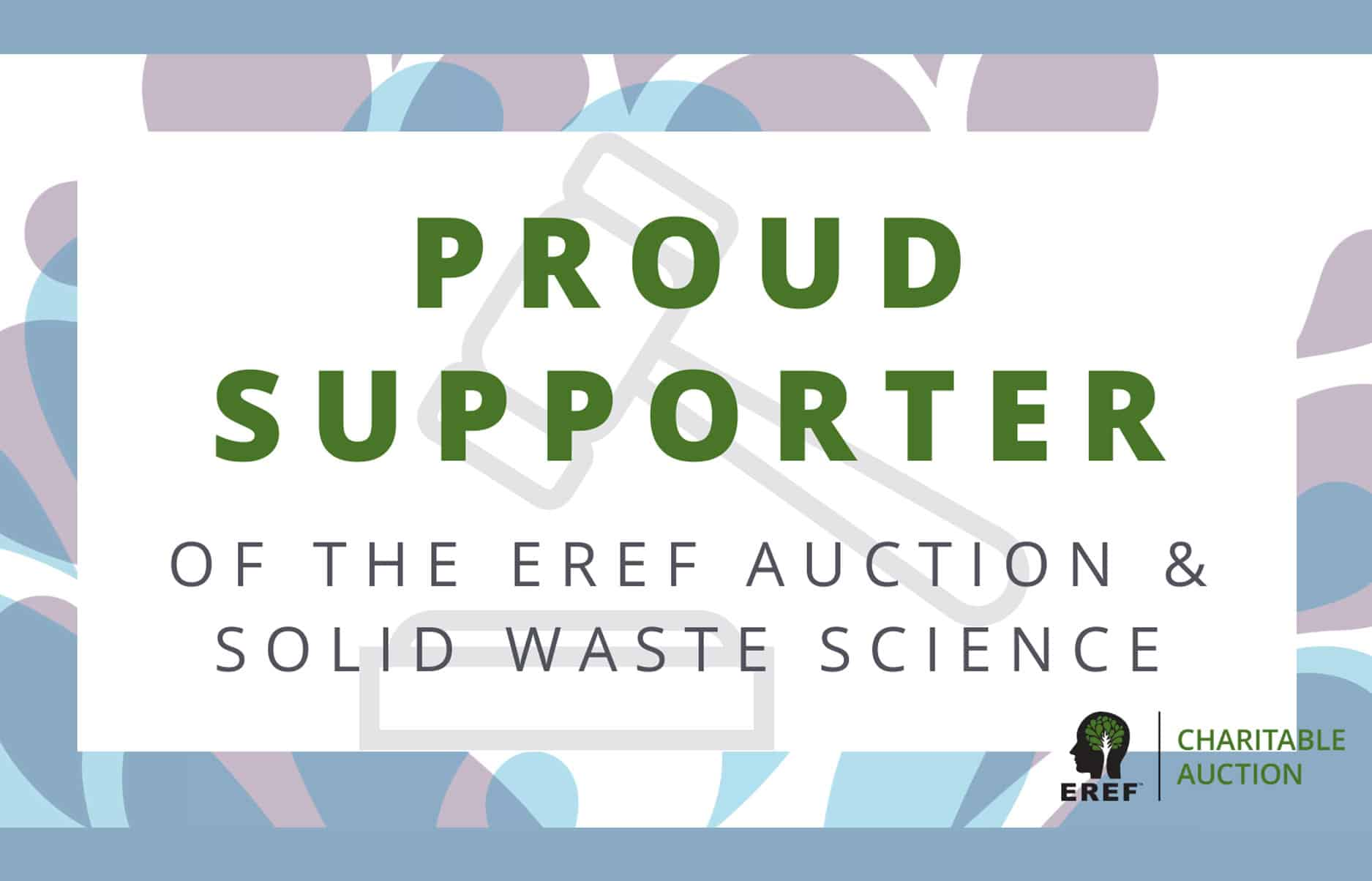 EREF Auction Supporter Waste Expo